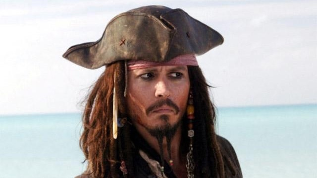 Johnny Depp in Pirates of the Caribbean At World's End