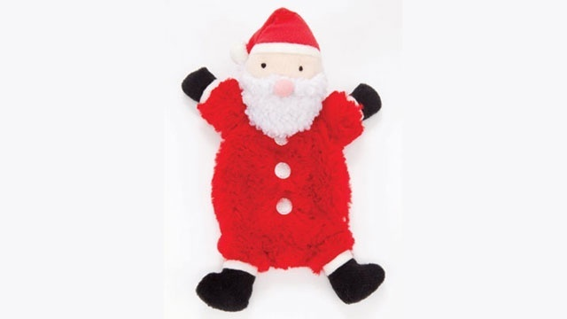 Martha Stewart Santa dog toy