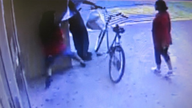 Armed suspects bike