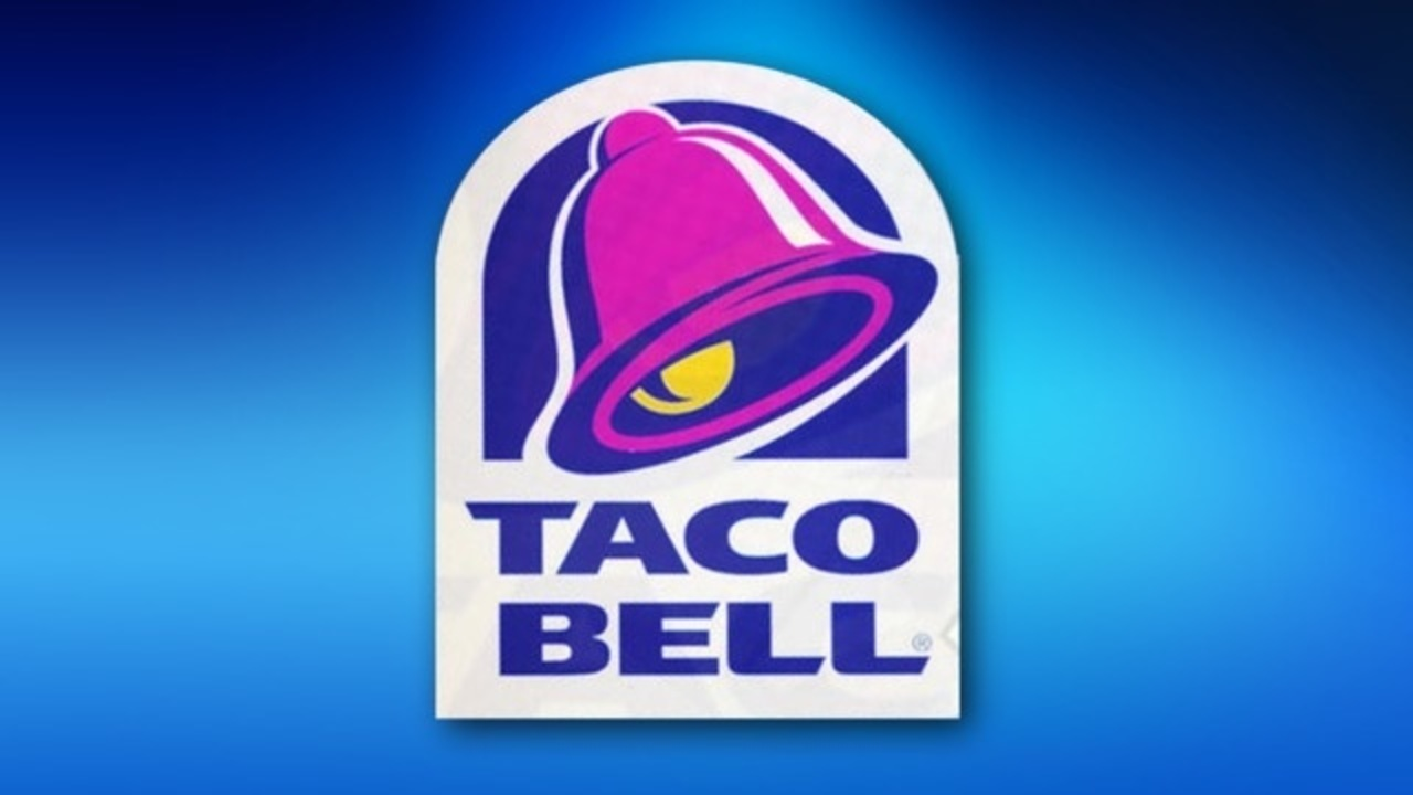 Taco Bell Logo woman hopes to marry in dress made of taco bell burrito wrappers