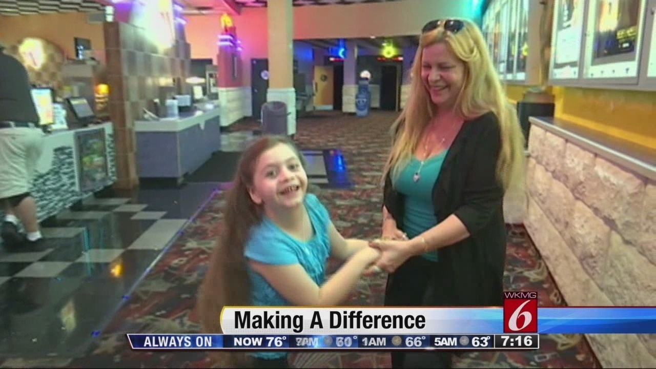 Man Rents Movie Theater For Special Needs Kids