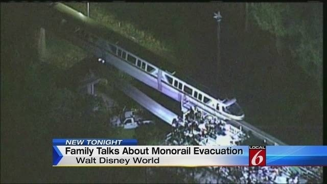 11pm Family Talks About Monorail Evacuation