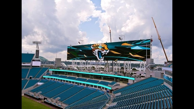 Jaguars video boards