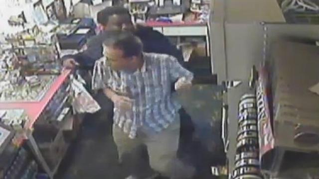 Robbery surv video