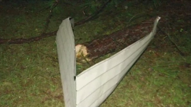 Storm damage in St. Cloud