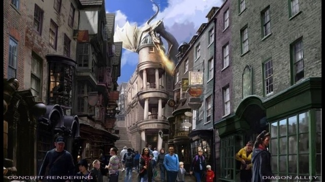 diagon dragon