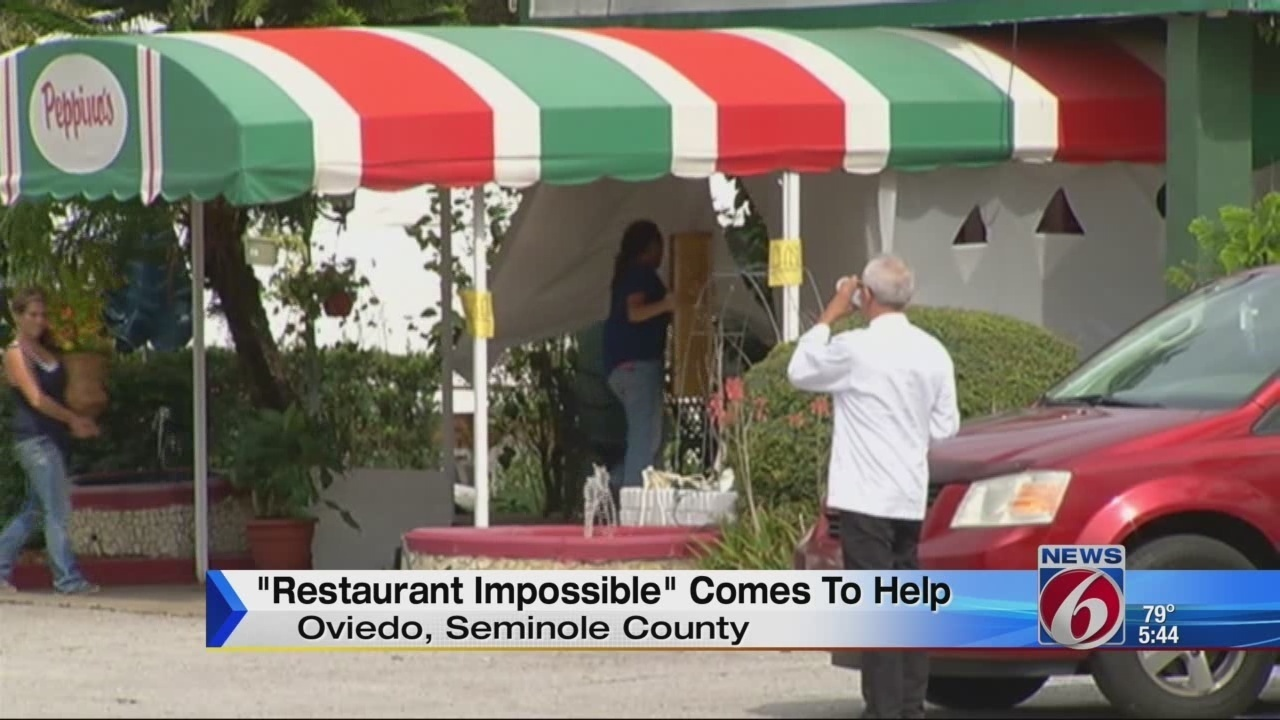 Peppino S Italian Restaurant: 'Restaurant Impossible' Takes Over Oviedo Eatery