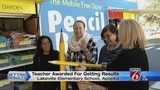 Teacher surprised with 10-millionth pencil