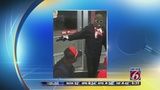 Man wearing bizarre disguise wanted in robbery