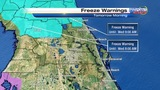 Cold blast grips Central Florida