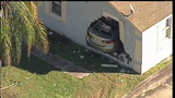 1 hurt after car crashes into Orlando house, FHP says
