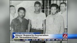 Mayor supports exoneration of