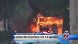 Wiring to blame for school bus fire in Apopka