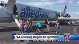 FAA reviews Allegiant Air operations