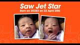 Baby named for airline after birth onboard