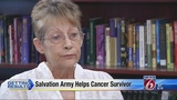 Salvation Army keeps cancer survivor afloat