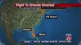 Flight to Orlando diverted to Miami