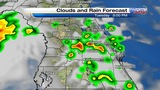 More rain, storms forecast for Central Florida