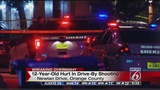 12-year-old boy shot in drive-by in Orlando