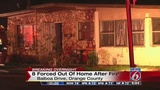 8 escape Orange County house fire