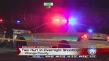 2 injured in separate shootings in Orange County