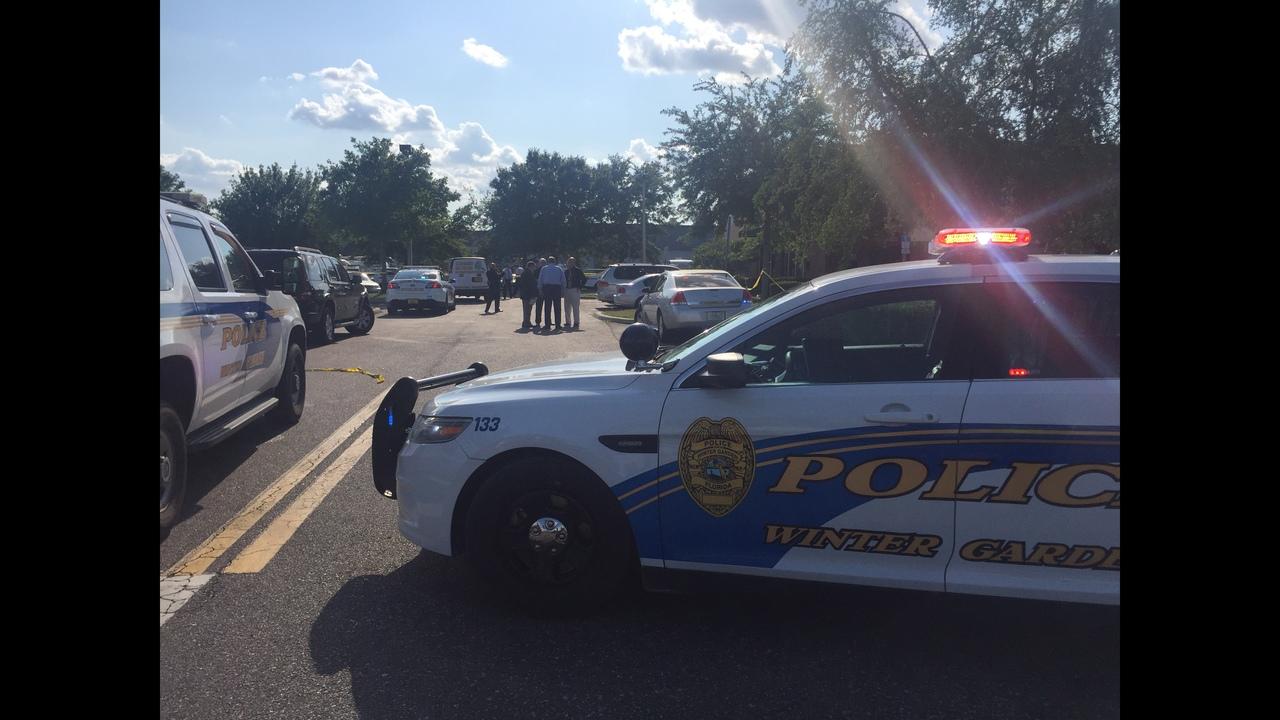Cops Winter Garden Police Shoot Suspect Officer Injured