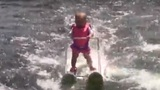Video shows 6-month-old skiing across Central Florida lake