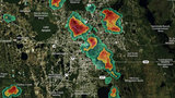 Severe thunderstorm warning issued for Lake, Orange, Seminole counties