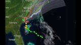Tropical Depression Bonnie brings heavy rain to Carolinas
