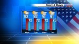Is rain on tap for Memorial Day in Central Florida?