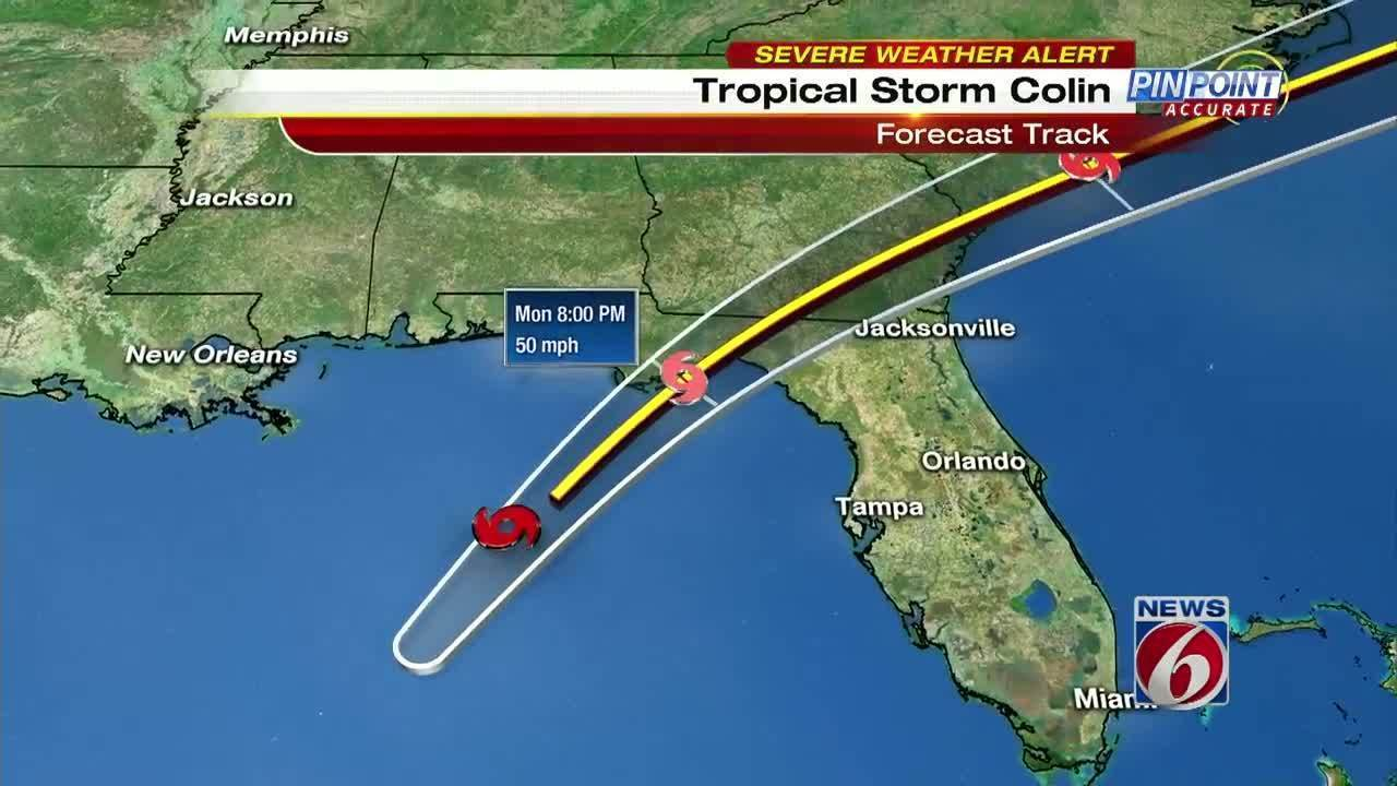 Brevard County prepares for Tropical Storm Colin