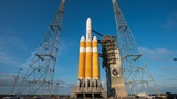 Delta IV rocket prepped for mid-week launch