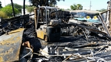Arson suspected in Daytona Beach fire