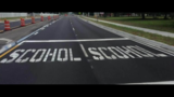 Misspelled word painted in Volusia County school zone