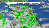 Rain chances, feels-like temperatures increase in Central Fla.