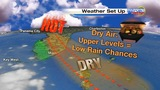 More heat, lower rain chances in Central Florida