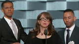 Families of gun violence victims speak at DNC
