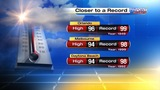 Central Florida moves closer to breaking high temperature record