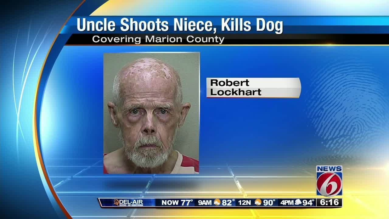 Florida Man Accused Of Shooting Niece Killing Her Dog