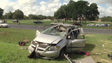 Woman killed, 5 injured in crash outside Ocala school