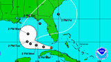 Tropical Depression 9 strengthens from Invest 99&#x3b; rain chances rise