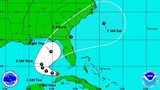 Central Florida in cone of system expected to become tropical storm