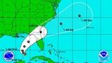 Tropical system treks toward Florida
