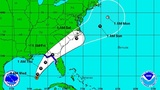 TD 9 continues on path to Florida
