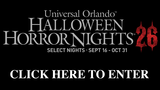 Halloween Horror Nights 26 at Universal Orlando Resort™