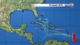 Models show tropical system strengthening, heading toward Florida