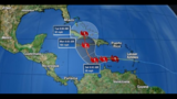 Hurricane Matthew strengthening in central Caribbean Sea