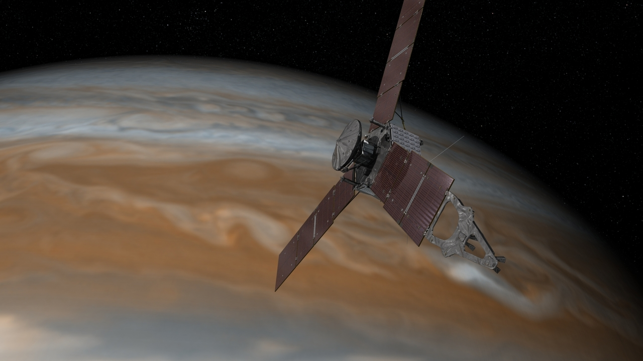 Trouble in space for NASA Juno mission at Jupiter