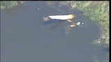 Raw video: Plane crashes into Leesburg swamp