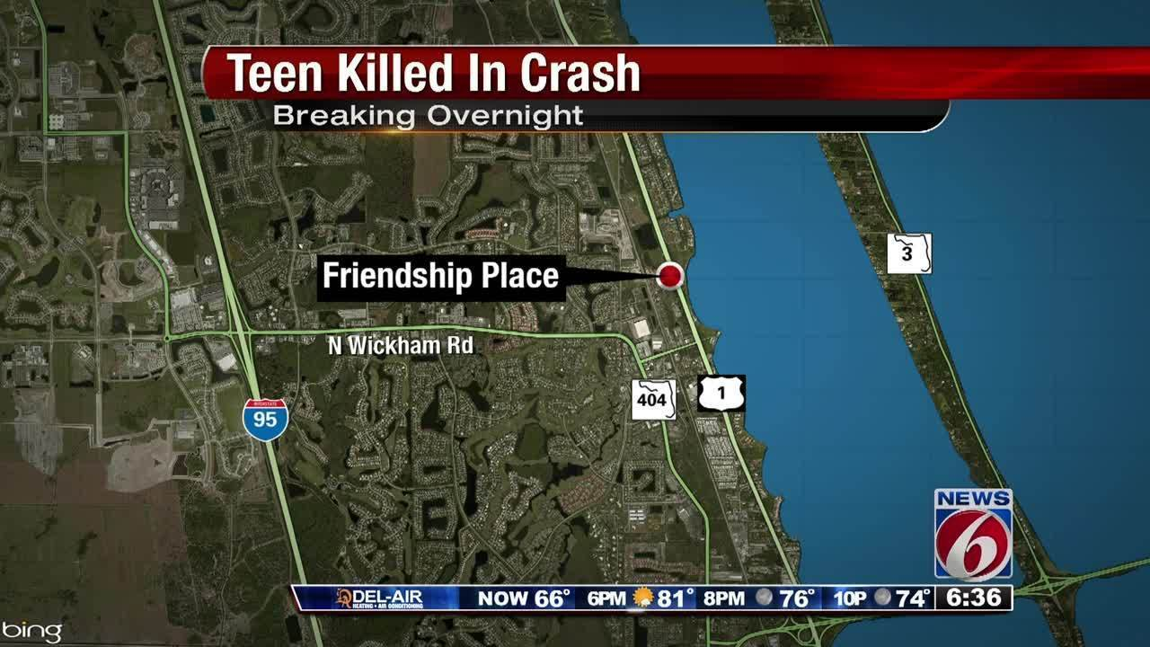 Teen Killed In Car Crash Florida November